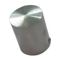 End Cap for Curtain Fitting - 1.5 - Stainless Steel Finish