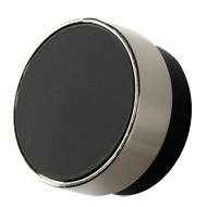 RADIO Cabinet Wood Knob - 25mm - Beech Black