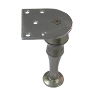 Furniture Leg - 130mm - Stainless Steel