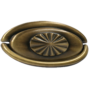 Cabinet Pull - 68mm - Antique Brass Tru