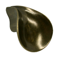 AQUUS Cabinet Pull - 47mm - Antique Bra