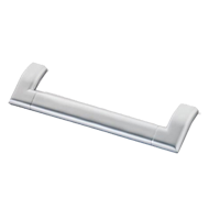Cabinet Handle - 180mm - Matt Chrome Finish