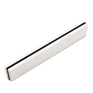 Cabinet Handle - 153mm - Pure White & B