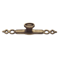 Cabinet Knob with Base Plate - 128mm -