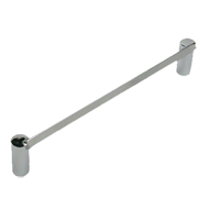 Cabinet Handle - 172mm - Bright Chrome Finish
