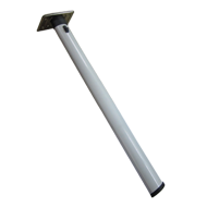 Folding Table Leg - 27 Inch - White Colour