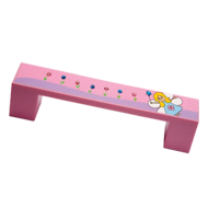 Kids Fairy Cabinet Handle in Pink Colou