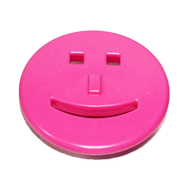 Kids Cabinet Smiley Knob in P
