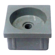ABS (Plastic) Adaptor - Furniture Leg - Grey Colour