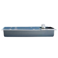Floor Spring Stainless Steel Cover Plate Without Hold Open for Door Width Upto - 950