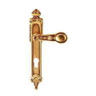 Shanghai Lever Handle on Plat