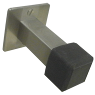 Square Door Stopper - Stainle