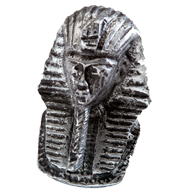 Impala Pharaoh Cabinet Knob in Antique