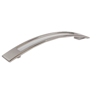 Cabinet Handle -137mm - Bright Chrome Finish