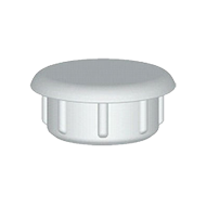 Cover Cap Hole - 8mm - Brown