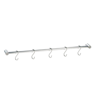Kitchen Bar with 5 S Hook - 80Cm