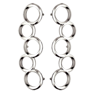 Door Pull Handle - Chrome - 600mm