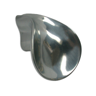Cabinet Knob - 47mm - Tin Polished Finish