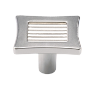 Cabinet Knob -  41mm - Tin Coloured Finish