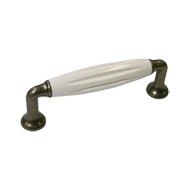 Cabinet Handle -  114mm - Tin Coloured