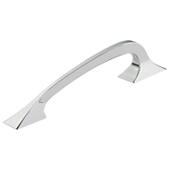 Cabinet Handle - 209mm - Tin Coloured Polished Finish