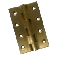Railway Hinges - 4 Inch - Gold Finish