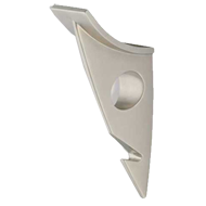 Streamline Modern Cloak Hook - Matt Nic