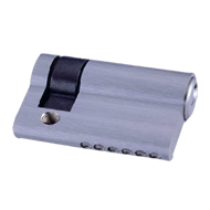Cylinder One Side Key - 35mm - Polished Nickel Finish