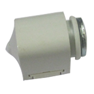 Magnetic Catcher with Coupling - White Colour