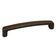Cabinet Leather Handle - Brown - 176mm