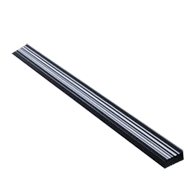 BAR CODE Cabinet Handle - 1200mm - Blac