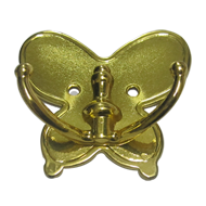 Butterfly Khunti - Gold Finish