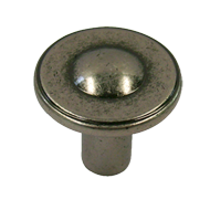 5003 - Cabinet Knob - 30 -  ANTIQUE SIL