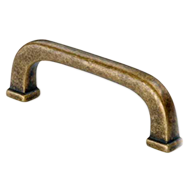 Cabinet Handle -110mm -  Antique Brass
