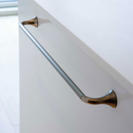 TRUMPET Cabinet Handle - 320mm - Bright