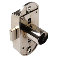 Espagnolette Lock Housing - Nickel Plated Finish - 15/22mm