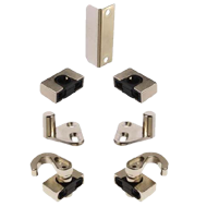 Accessories for Espagnolette locks - Polished Nickel Finish