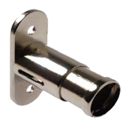 PUSH lock Housing - Nickel Plated Finish
