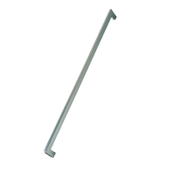 FLAT Cabinet Handle - 128mm - Bright Chrome Finish Modern Design