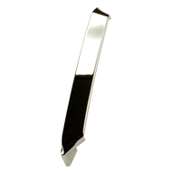BEND Cabinet Handle - 160mm - Bright Chrome Finish Modern Design