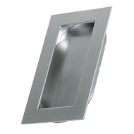 INN - Cabinet Flush Handle - Matt Chrome Finish - 120mm