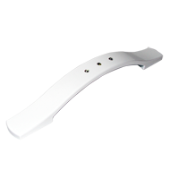 Cabinet Handle - 184mm - High Gloss Whi
