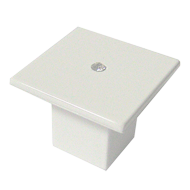 Cabinet Knob - 36mm - High Gloss White