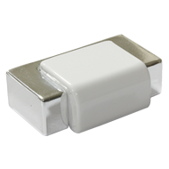 Cabinet Handle - 40mm - High Gloss Whit