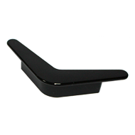 Kids Cabinet Boomerang Handle in Black Color From Misr