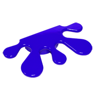 Kids Big Splash Handle in Blu
