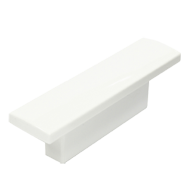 Cabinet Knob - 72mm - High Gloss White