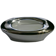Cabinet Handle - 83mm - High Gloss Whit