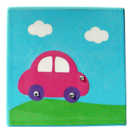 Kids Car Decorative - Light Blue Colour