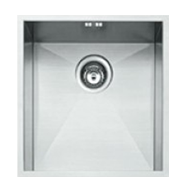 Square Kitchen Sink - European Satin Finish - 420X450mm